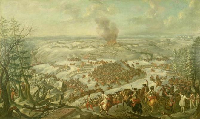 The Battle of Maxen, November 1759