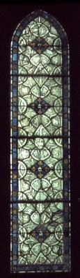 Window from the St. Germain de Pres Cathedral, 13th century