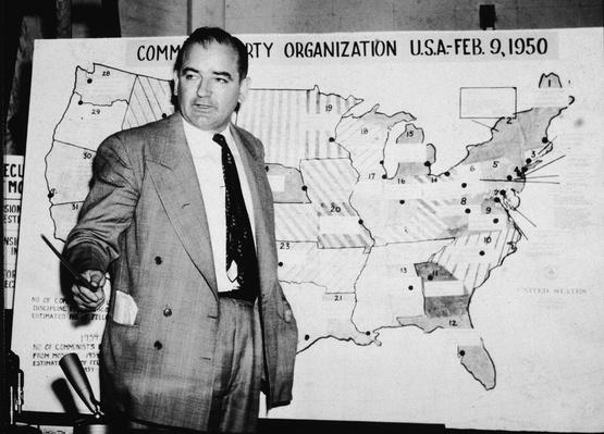 McCarthy In Army-McCarthy Hearings | The Cold War | The 20th Century Since 1945: Postwar Politics