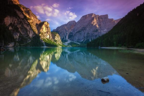 Lake Braies in the Dolomites | Animals, Habitats, and Ecosystems