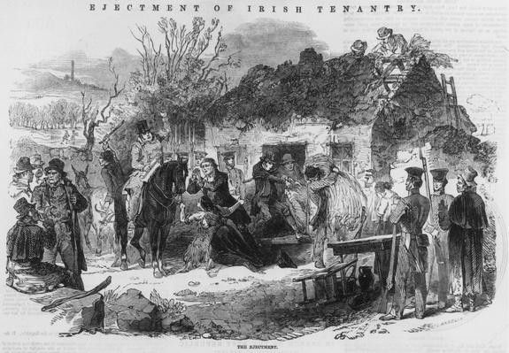 Eviction Party | U.S. Immigration | 1840's to present | U.S. History