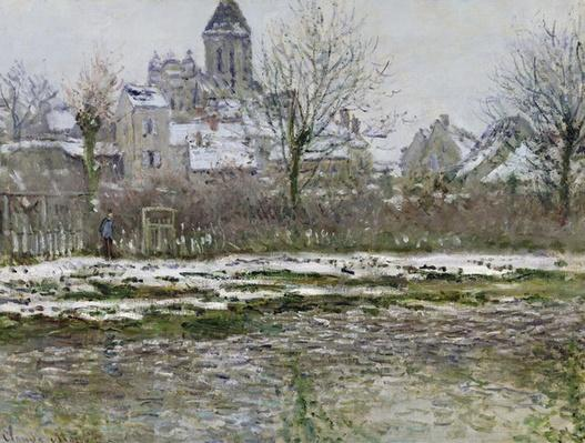 The Church at Vetheuil under Snow, 1878-79