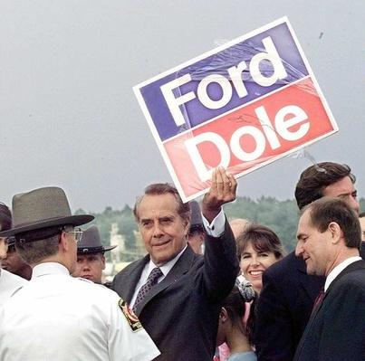 Republican Presidential Candidate Bob Dole at the Richmond VA Airport | U.S. Presidential Elections: 1996