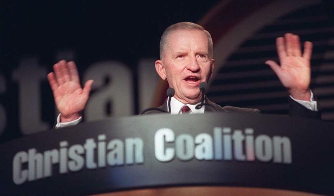 Reform Party Presidential Candidate Ross Perot Addresses the Christian Coalition in Washington, DC | U.S. Presidential Elections: 1996