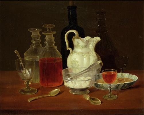Still Life with Decanters