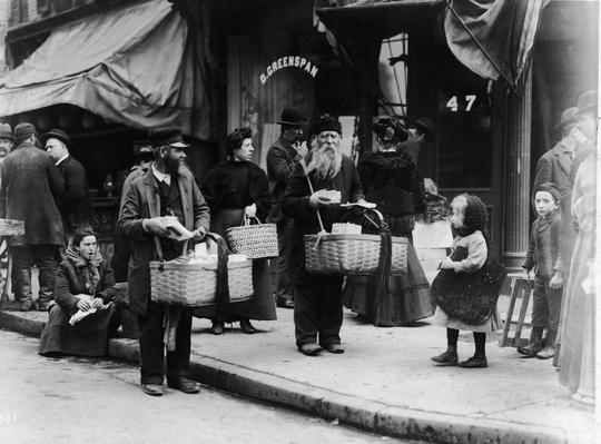 Street Vendors On Lower East Side, New York | The Gilded Age (1870-1910) | U.S. History