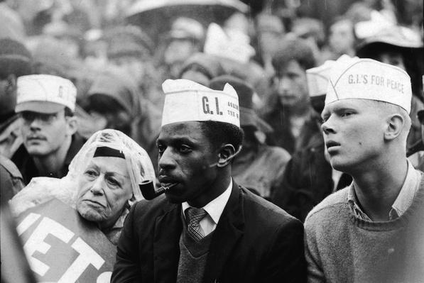 GIs At Anti-Vietnam War Rally In Chicago | Vietnam War