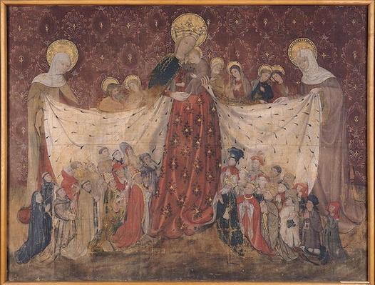 Virgin Protector, c.1417