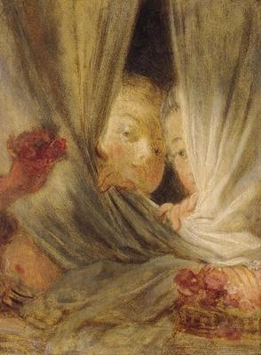 Curiosity by Fragonard, Jean-Honore (1732-1806)