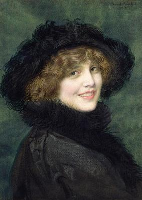 Portrait of Madame Ryan, nee Arlette Warrain, 1914