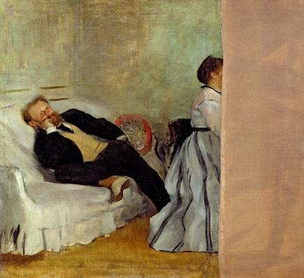 Monsieur and Madame Edouard Manet, 1868-69