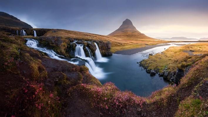 The Landscape Kirkjufell Mountain on West of Icela | Earth's Surface