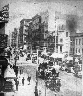 View Of Broadway In New York | The Gilded Age (1870-1910) | U.S. History
