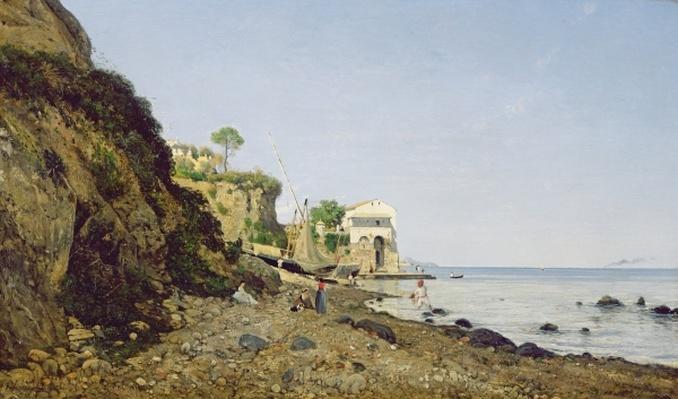 Seascape at Sorrento, 1859