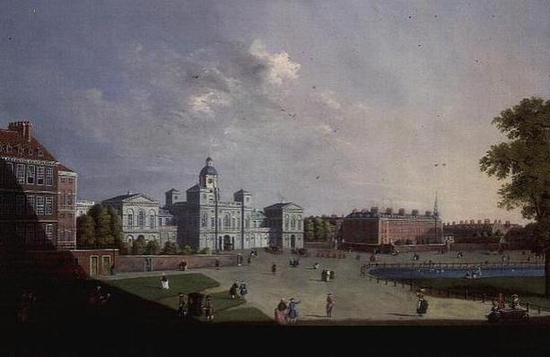 The Horse Guards Parade, Westminster, 18th century