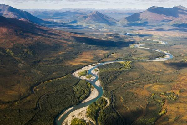 Noatak River in the Brooks Range - Arctic Alaska, Summer | Earth's Surface