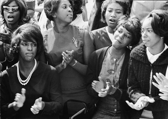 Young Women Singing At The March On Washington | Civility & Brutality | The 20th Century Since 1945: Civil Rights & the New Millennium