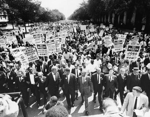 Civil Rights Leaders At The March On Washington | The 20th Century Since 1945: Civil Rights & the New Millennium