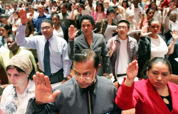 New U.S. Citizens Sworn In On World Refugee Day   U.S. Immigration   1840's to present   U.S. History