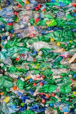 Crushed Plastic Bottles For Recycling | Earth's Resources
