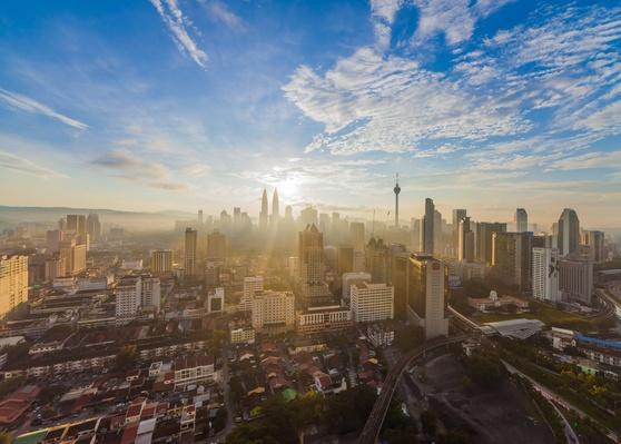 Kuala Lumpur heart of the city view during sunrise | Cityscapes | Geography 14.1