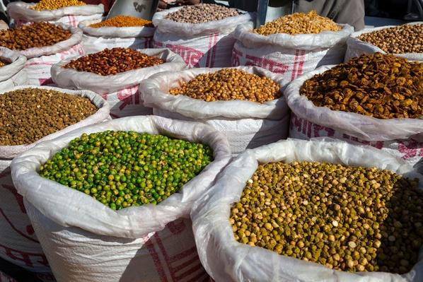 Farmers Market Stall - Jaipur, Rajasthan, India | Earth's Resources