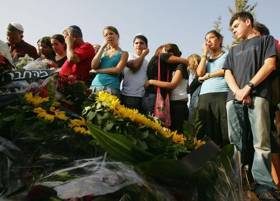 Funeral For Israeli Teenage Girls Killed In Palestinian Suicide Bomb Attack | Palestine-Israel Conflict