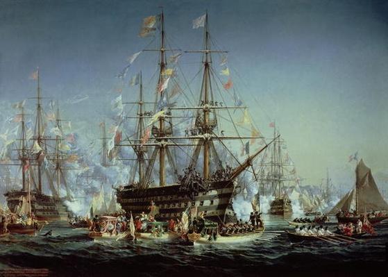 Queen Victoria's Visit to Cherbourg, 1858