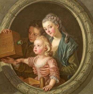The Camera Obscura, 1764