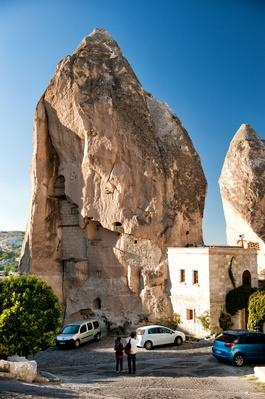 Chimney Houses in Goreme Cappadocia | Earth's Surface