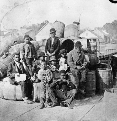 Sitting With Cargo | African-American History