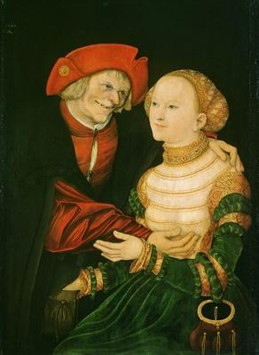 The Ill-Matched Couple, 1522