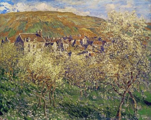 Plum Trees in Blossom, 1879