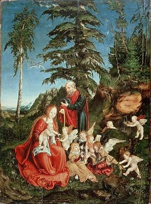 Rest on the Flight into Egypt, 1504