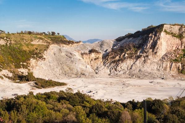 Solfatara Volcano, Landscape, Campania, Italy | Earth's Surface