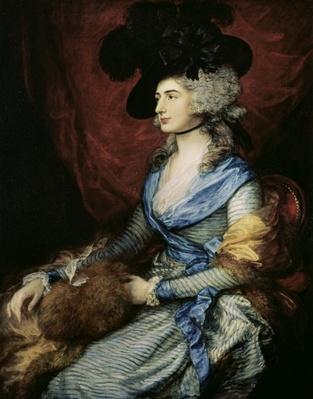 Mrs Sarah Siddons, the actress