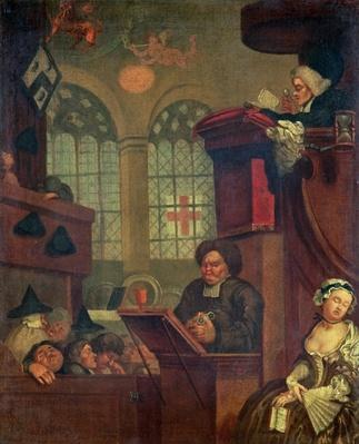 The Dull Sermon