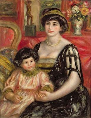 Madame Josse Bernheim-Jeune and her Son Henry, 1910