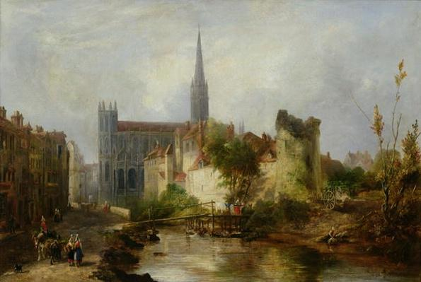 View of the Church of St. Peter, Caen, 1841