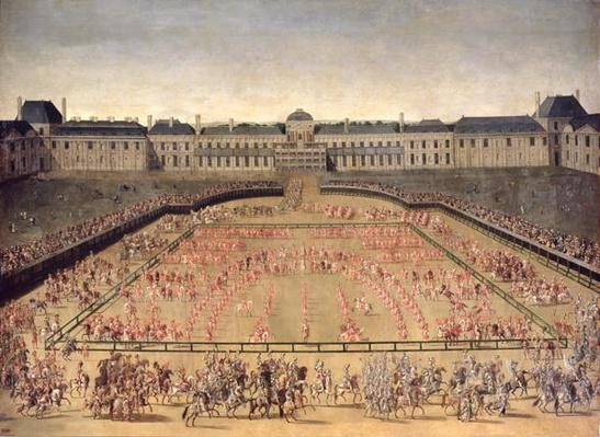 Carousel given for Louis XIV in the Court of the Palace of the Tuileries, 5th June 1662