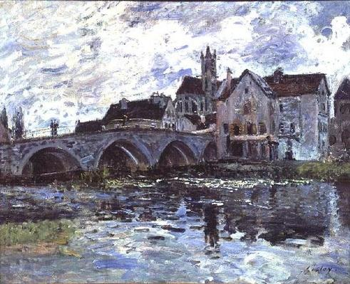 The Bridge of Moret-sur-Loing, 1887