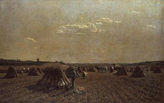 Harvest Scene, 1879