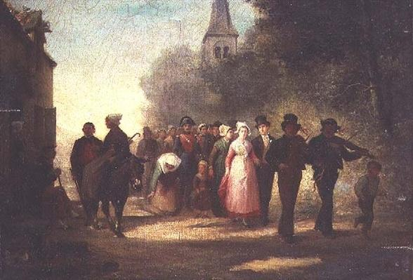 The Village Marriage, 1872
