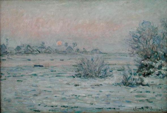 Snowy Landscape at Twilight, 1879-80