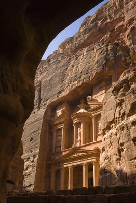 Jordan, Treasury, El-Khazneh, Petra, UNESCO Heritage Site | Ancient Civilizations