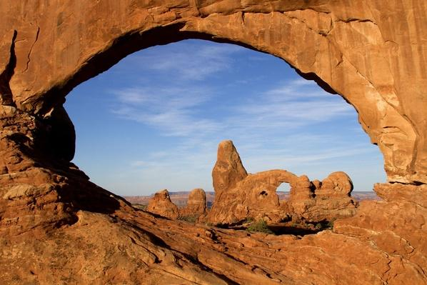 Arches National Park, Turret Arch Seen Through North Window | Earth's Surface
