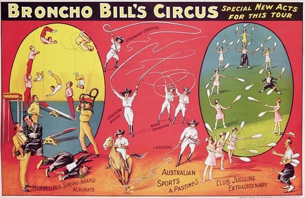 Broncho Bill's Circus, Birmingham c.1890-1910
