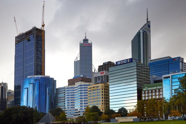 Australia, Perth, City centre Skyline | Cityscapes | Geography 14.1
