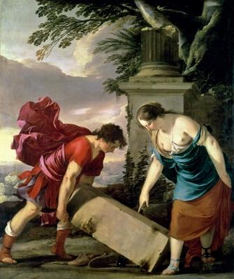 Theseus and his Mother Aethra, c.1635-36