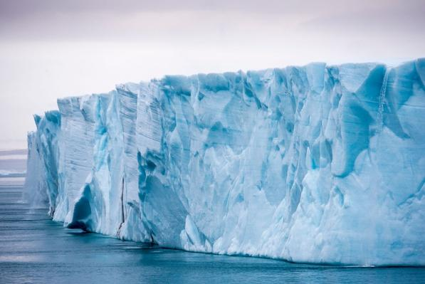 The Ice Wall of the Nordaustlandet Ice Cap | Earth's Surface